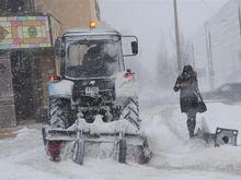 В Казани пройдут сильные снегопады