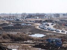 С 4 марта изменилась схема организации движения на Южном подъезде к Ростову ФОТО