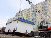В Красноярске продолжается демонтаж незаконных павильонов