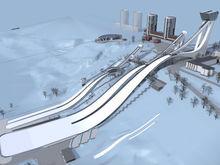 Названы новые сроки строительства комплекса трамплинов в Нижнем Новгороде