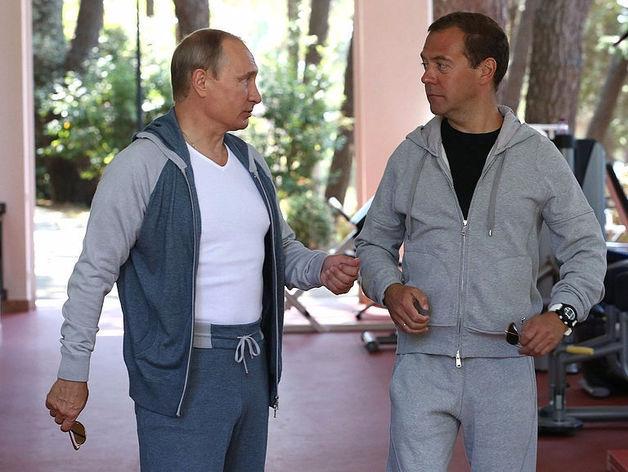 «Дмитрия Анатольевича не уберегли». Путин рассказал о болезни Медведева