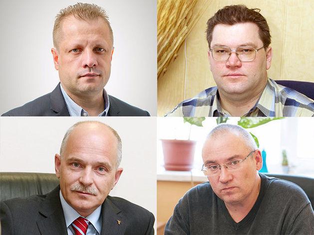 Павел Неверов, Анатолий Павлов, Андрей Беседин, Евгений Крупин