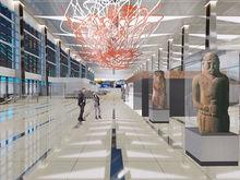 Представлен дизайн интерьера нового терминала красноярского аэропорта