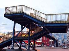 В Красноярске нашли владельца пешеходного моста возле ТЦ «Сибирский городок»