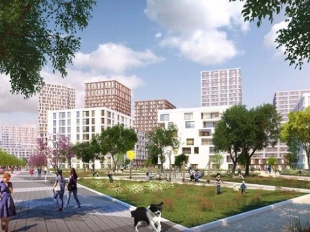 На месте Цыганского поселка появится новый район с башнями и «урбан-виллами»