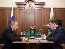 Владимир Путин принял отставку Евгения Куйвашева