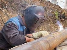 На правобережье Красноярска заменят 600 метров старой теплотрассы