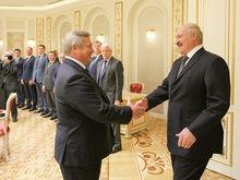 Василий Голубев снова встретился с Александром Лукашенко