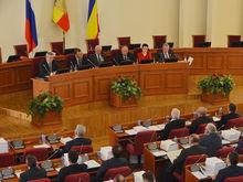 На заседании ростовского Заксобрания обсудили вопросы экологии, бюджета и прав человека