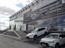 В Новосибирске состоялось официальное открытие нового дилерского центра Mitsubishi