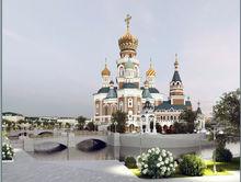 Конференц-зал, гараж и лифт: опубликован проект разрешения на строительство Храма-на-воде