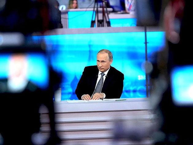 «Шоу всегда должно быть хорошо подготовлено». Как отрепетировали «Прямую линию» с Путиным