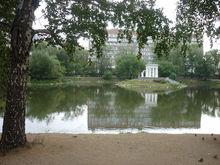 Лодочная станция и беседка-фонтан. Как реконструируют Харитоновский парк в Екатеринбурге