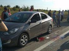 Полицейский расстрелял машину под Ростовом