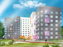 Фиолетовый, оранжевый, терракот. В Екатеринбурге построят два разноцветных ЖК