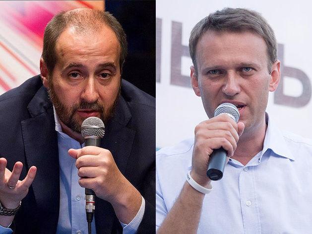 Андрей Мовчан и Алексей Навальный