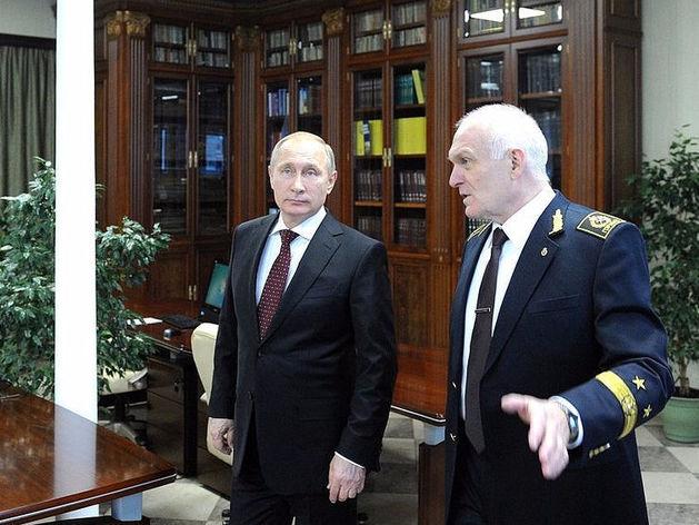 Владимир Путин и Владимир Литвиненко