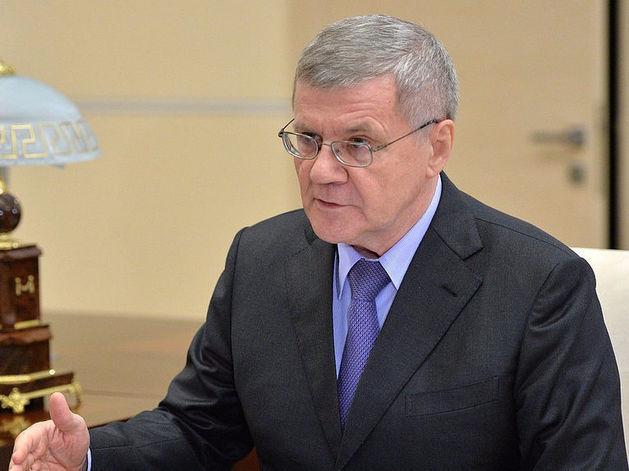Генеральный прокурор РФ Игорь Чайка