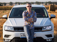 Алексей Матвеенко совершил загородный вояж на новом Volkswagen Tiguan
