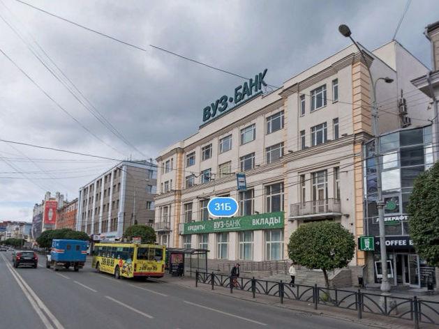 В Екатеринбурге выставили на продажу помещение бывшего головного офиса «ВУЗ-банка»