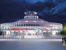 В Красноярске представили дизайн обновленного цирка