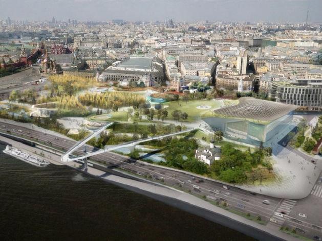На московский парк «Зарядье» потратили 14 млрд руб. Почему он получился таким дорогим
