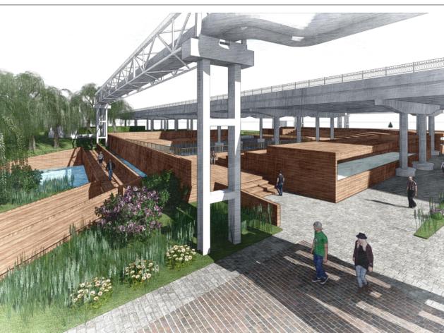 Территорию Верх-Исетского завода реконструируют и превратят в парк или арт-пространство