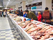 На Центральном рынке Ростова открылся новый рыбный павильон