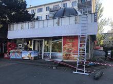 В Ворошиловском районе Ростова продолжается снос магазинов