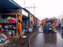 """Стала известна причина пожара на рынке """"Восточный"""" в Ростове"""