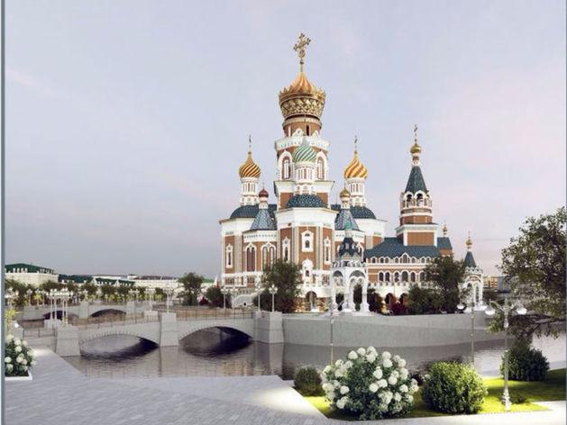 Храм-на-воде станет Храмом-у-воды. Скандальный собор перенесут к Белому дому