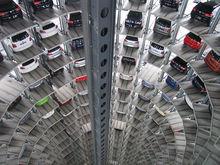В центре Челябинска за 70 млн руб. продается пятиэтажное здание парковки