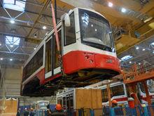 Трамвайные вагоны «Уралтрансмаша» доедут до Подмосковья