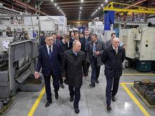 Владимир Путин приехал на XIV Форум сотрудничества России и Казахстана