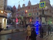 В Ростове перекрыли Большую Садовую