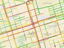 Неработающие светофоры парализовали центр Ростова