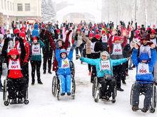 Первый инклюзивный дружеский забег «Первый снег» прошел в Нижнем Новгороде