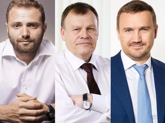 Виктор Ананьев, Владимир Крицкий, Геннадий Черных