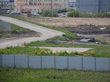 На продаже появился земельный участок под склад с вертолетной площадкой