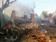 Полиция Ростова не нашла доказательств поджога при пожаре на Театральной площади