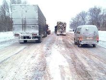 Из-за непогоды в Ростовской области перекрыли две трассы