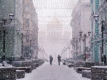 Экстренное предупреждение объявили в Ростове из-за дождя, снега и сильного ветра