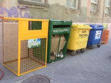 Более 55% жителей Ростова имеют доступ к раздельному сбору мусора