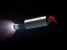SpaceX запустила мощнейшую ракету в мире с родстером Tesla. Он пролетит мимо орбиты Марса