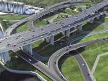 Движение по новой дороге от Копылова к четвертому мосту в Красноярске показали на видео