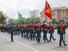 Более 3 тыс человек и 65 единиц техники примут участие в параде 9 мая в Ростове