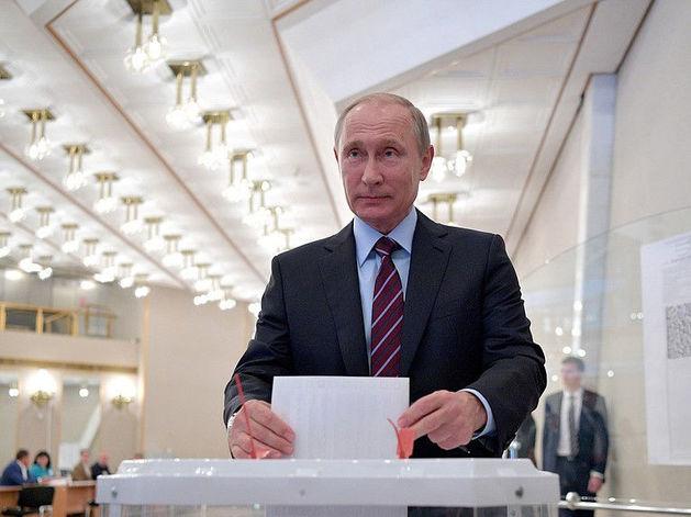 Выборы 2018: по данным экзитполов Путин лидирует с 74% голосов. Какие места у остальных?