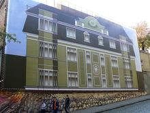 Бизнес поможет завесить неприглядные здания Ростова баннерами