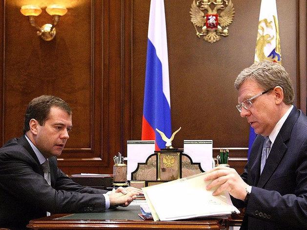 Дмитрий Медведев и Алексей Кудрин