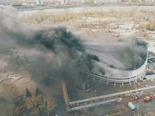 Дайджест DK.RU-Красноярск: пожар во Дворце спорта, арест главы района; новая сеть кафе